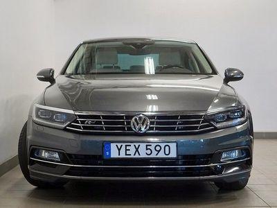 begagnad VW Passat TDI 190 4M DSG R-Line Taklucka Värmare