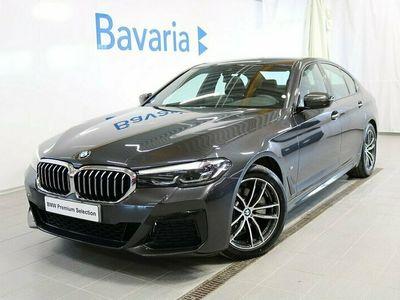 begagnad BMW 520 d xDrive Sedan M-Sport D-värmare HiFi Drag Nypris 576 400-