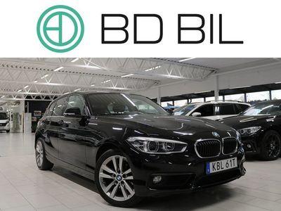 begagnad BMW 118 d NYSERV EU6 VÄLVÅRDAD M-RATT