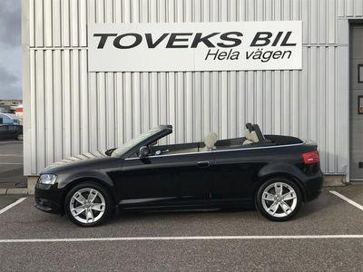 begagnad Audi A3 Cabriolet 2.0TFSI 200hk 7700mil