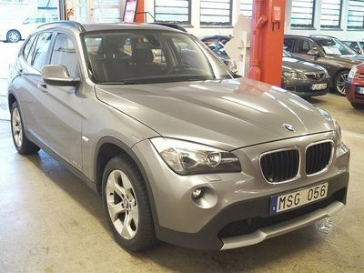 begagnad BMW X1 18d xDrive Aut Dragkrok