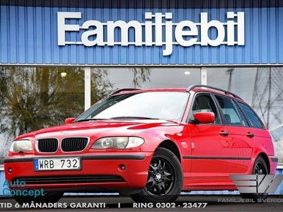 begagnad BMW 318 i Touring Touring, E46 (143hk) Kamkedja/AC/Sv-såld