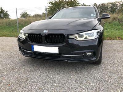begagnad BMW 320 d xDrive Touring Sport line LCI