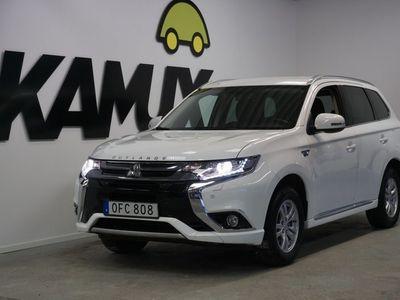 begagnad Mitsubishi Outlander P-HEV 4WD Drag S&V-Hjul (203hk)