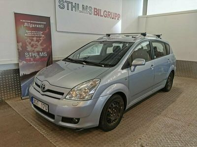 begagnad Toyota Corolla Verso