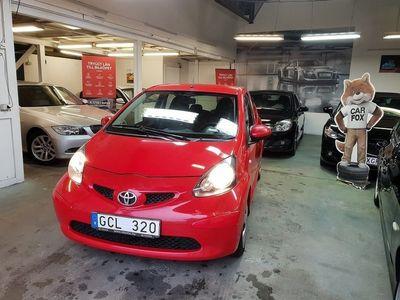 begagnad Toyota Aygo 3-dörrar 1.0 VVT-i 68hk ny besikt -08