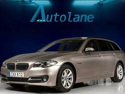 begagnad BMW 520 d Skinn,Sportstolar,Drag,Låg skatt,Eu