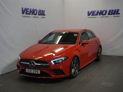 begagnad Mercedes 200 A-Klass8G-DCT AMG Nav