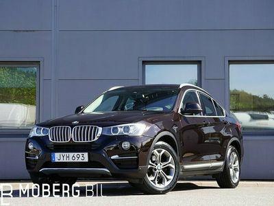 begagnad BMW X4 30d xDrive xLine H/K Navi HUD Taklucka