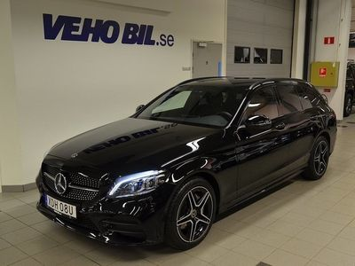 begagnad Mercedes C200 d AMG, Värmare, Drag, Burmester