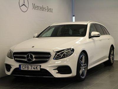 begagnad Mercedes E200 Kombi, AMG Line, Drag
