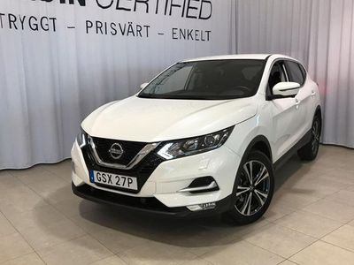 begagnad Nissan Qashqai DIG-T 160 N-CONNECTA AUTOMAT 2020, SUV 224 900 kr