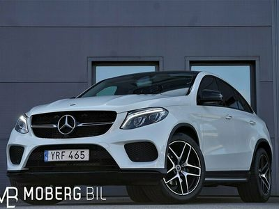 begagnad Mercedes GLE350 d 4M Coupé AMG H/K Night Panorama