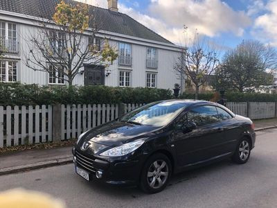 begagnad Peugeot 307 CC cab lågmil höstpris 7000 mil