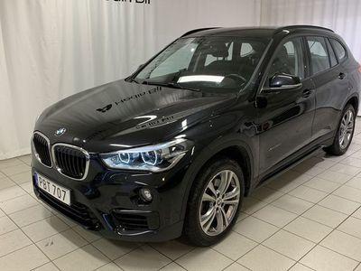 begagnad BMW X1 xDrive20d 190hk Sport Line Auto V-hjul Navi