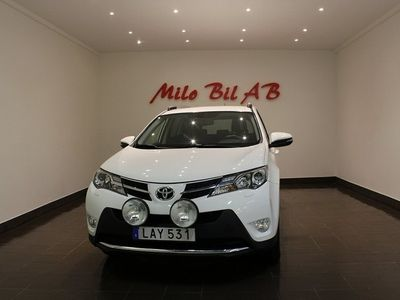 begagnad Toyota RAV4 2.2 D-4D 4x4 AUT B-KAMERA SV-SÅLD