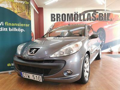 begagnad Peugeot 206+ 3-dörrars 1.1 60hk NY KAMREM
