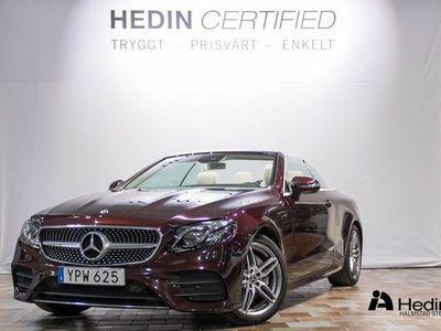 begagnad Mercedes E200 Cabriolet // AMG & DESIGNO LÄDER //