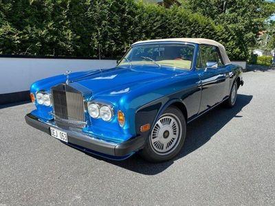 begagnad Rolls Royce Corniche Convertible 6.8 V8