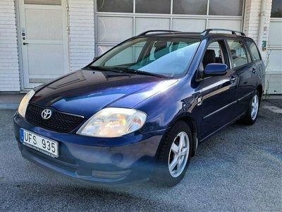 begagnad Toyota Corolla Kombi 1.6 VVT-i Automat 110hk NYBESIKTIGAD
