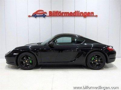 begagnad Porsche Cayman 2.7 245hk Skinn