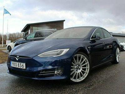 begagnad Tesla Model S 75D Momsbil/Leasbar Subzero Luftfjädring 525hk