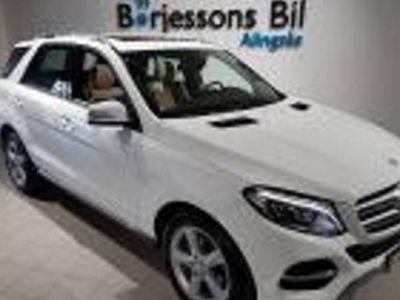 begagnad Mercedes 350 GLE BenzD 4MATIC drag 2016, SUV 429 900 kr
