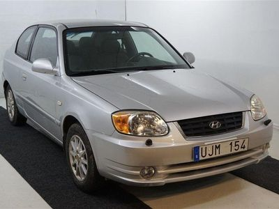 begagnad Hyundai Accent 3-dörrar 1.6 Manuell, 105hk