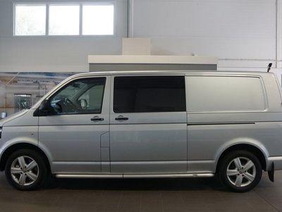 begagnad VW Transporter 2.0 TDI 4Motion 180hk Dubbla sidodörrar