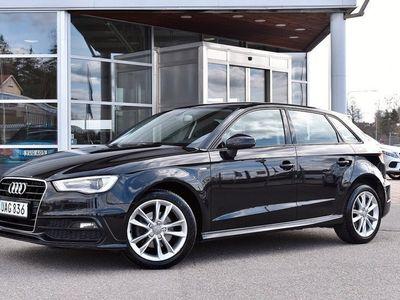 begagnad Audi A3 Sportback 1,6 TDI 105HK S-TRONIC S-LINE