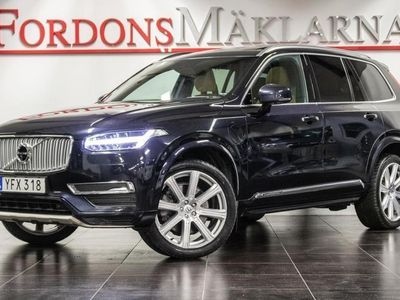 begagnad Volvo XC90 T8 AWD INSCRIPTION 7-SITS MELLANDAGSREA