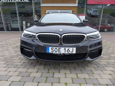 begagnad BMW 530 d Touring M-Sport Automat-Läder-Head up-Xenon-Dragkrok-En äg