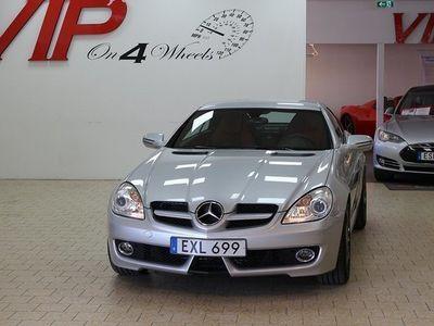 begagnad Mercedes 280 Benz SLK V6 Facelift Lågamil 2008, Cab 169 900 kr