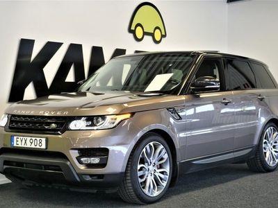 begagnad Land Rover Range Rover Sport 3.0 SDV6   Panorama   Luftfjädring   Navi (306hk)