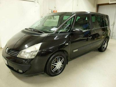 begagnad Renault Espace 2.0 T Authentique 7-sits 163hk Drag