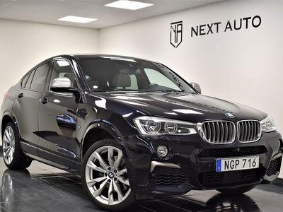 begagnad BMW X4 M40i 360HK AUT M SPORT B-VÄRM SV-SÅLD
