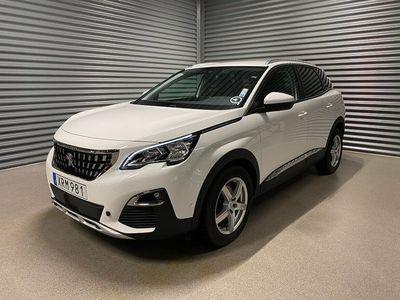 begagnad Peugeot 3008 Allure 1.2 130hk PureTech Aut Drag Eu6 Låg skatt