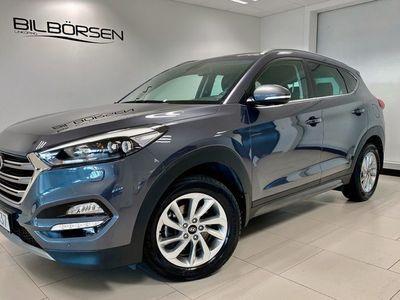 begagnad Hyundai Tucson 1.6 T-GDI 4WD (Nav. Dragkrok)
