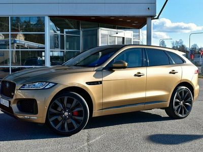 begagnad Jaguar F-Pace S 380HK FIRST EDITION PANORAMA DRAG SE SPEC