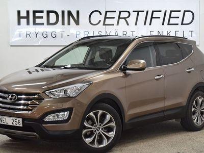begagnad Hyundai Santa Fe 2,2 CRDI 4WD Premium Navi Drag