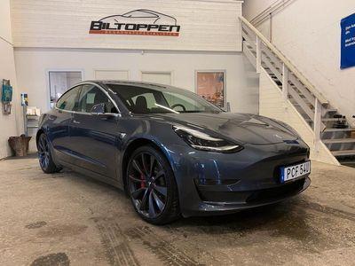 begagnad Tesla Model 3 Performance AWD Single Speed