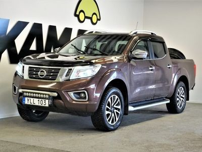 begagnad Nissan Navara Double Cab | 2.3 dCi |Tekna | D-Värmare 4WD 190hp,