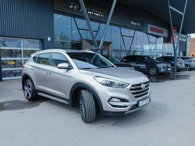 begagnad Hyundai Tucson 1.6 T-GDI 4WD DCT Euro 6 177hk