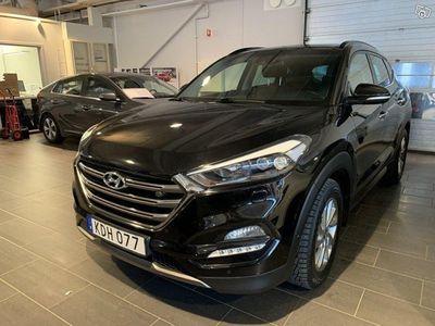 begagnad Hyundai Tucson 2.0 CRDi 4WD Automat Euro 6 184hk Premium