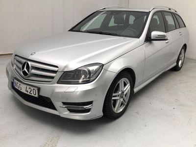begagnad Mercedes C220 C-KlassCDI Kombi BlueEfficiency S204