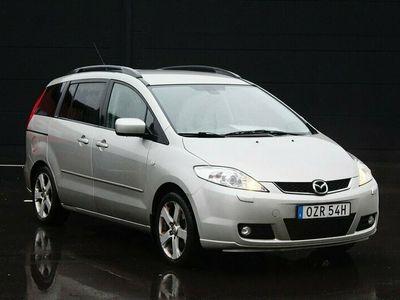 begagnad Mazda 5 2.0 MZR 7-sits Besiktad