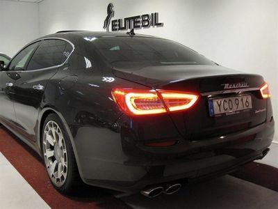 begagnad Maserati Quattroporte Diesel 2400mil Sport Bör Ses