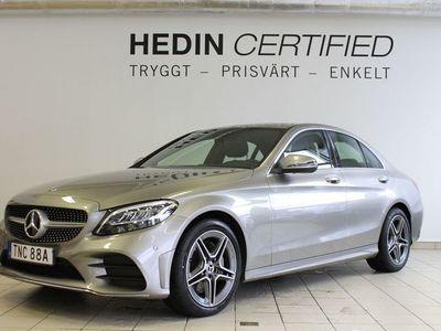 begagnad Mercedes 220 C-Klassd 4-Matic AMG, Drag, Apple Carplay, Navi