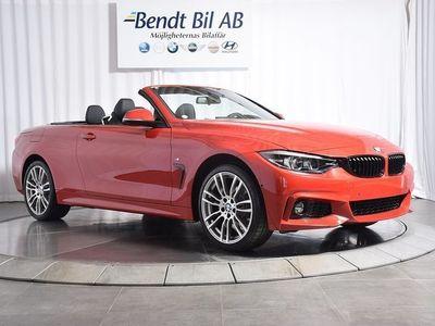 begagnad BMW 420 i / Cab / Läder / M-Sport -19