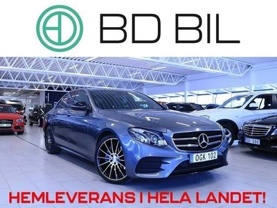 begagnad Mercedes 220 Benz E d AMG SPORT D-VÄRM DRAG EU6 2017, Sedan 329 000 kr